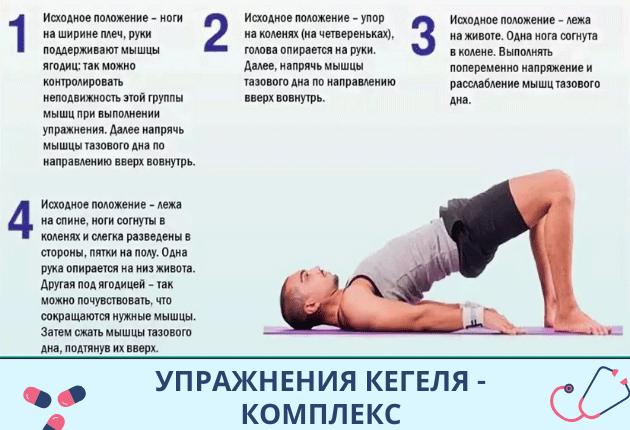 Упражнения Кегеля для мужчин. Выполняем правильно
