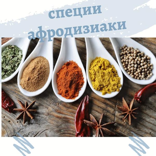 Афродизиаки для мужчин продукты